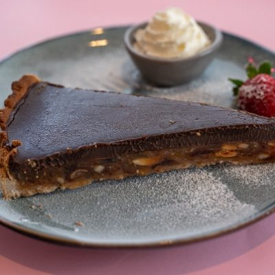 Chocolate-tart