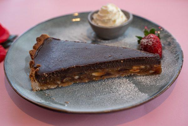 Chocolate-tart