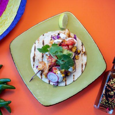 Grilled Prawn Taco